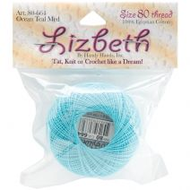 Handy Hands Lizbeth Cordonnet Cotton Size 80-Ocean Teal Medium