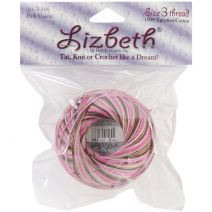 Handy Hands Lizbeth Cordonnet Cotton Size 3-Pink Cocoa