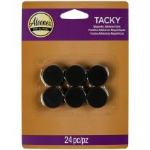 "Aleene'S Magnetic Tacky Dots-.75"" 24/Pkg"