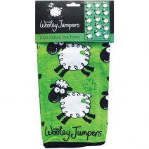 "Wooley Jumpers Single Tea Towel 25""X17""-"