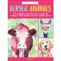Walter Foster Creative Books-Colorways Acrylic Animals