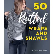 Stackpole Books-50 Knitted Wraps And Shawls