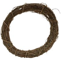 "Darice Grapevine Wreath  Natural  8"" Diameter  1 Each"