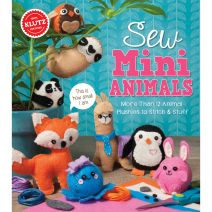 Sew Mini Animals Book Kit-