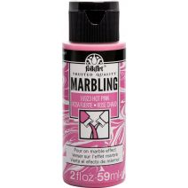 FolkArt Marbling Paint 2oz-Hot Pink
