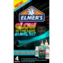Elmer's Slime Kit W/Magical Liquid-Glow In The Dark