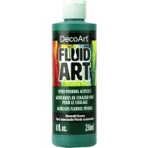 DecoArt FluidArt Ready-To-Pour Acrylic Paint 8oz-E