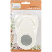 "Dress My Craft Paper Punch-2.5"" Scalloped Circle"