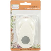 "Dress My Craft Paper Punch-1.25"" Scalloped Circle"