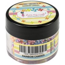 Dress My Crafts Shaker Elements 8gm-Rainbow Candies