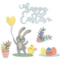 Sizzix Thinlits Dies By Lisa Jones 13/Pkg-Easter I