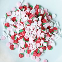 Dress My Crafts Shaker Elements 8gm-Strawberry Confetti Mix