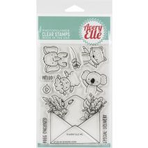 "Avery Elle Clear Stamp Set 4""X6""-Sending Hugs"