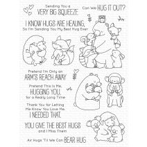 "My Favorite Things Birdie Brown Stamps 6""X8""-Hug I"