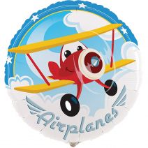 Party Destination Airplane Adventure 18 Inches Foil Balloon