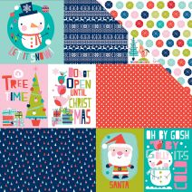 Holly Jolly Christmas Collection 12 X 12 Double Sided Paper Daily Details