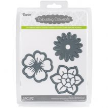 Embossing Essentials Dies Flowers