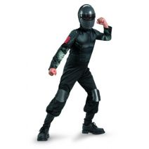 Disguise Snake Eyes Classic Costume Black Large