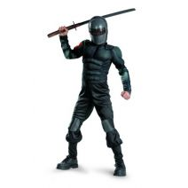 Disguise Snake Eyes Classic Muscle Costume Black Small