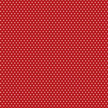 Core Basics Patterned Cardstock 12 X12 Inches Red Small Dot