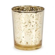 David Tutera™ Gold Spot Plating Glass Votive Cup