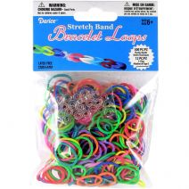 Stretch Band Bracelet Loops Assorted Colors