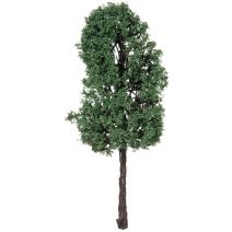 Diorama Tree with Powder Leaves 4.75 Inches
