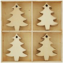 Lucky Dip Collection Christmas Flourish Pack Christmas Trees