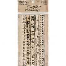 Advantus - Tim Holtz - Idea-ology Collection - Ruler Pieces