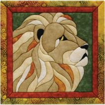 Lion Quilt Magic Kit-Lion