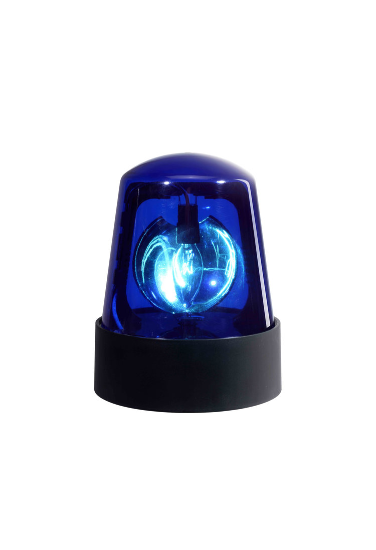 Visual Effects Police Becon Blue Dome