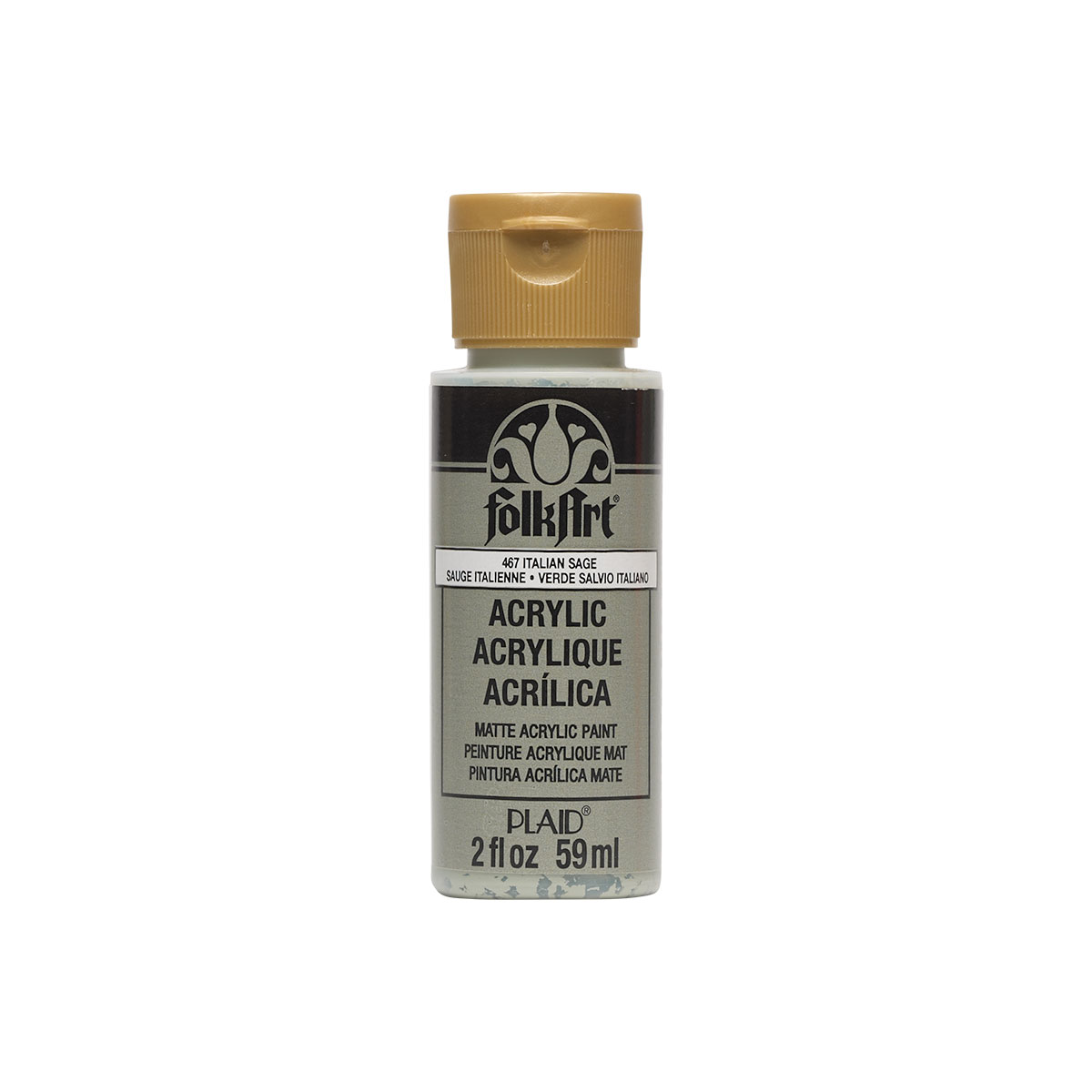 Plaid Folkart Acrylic Paint 2Oz-Italian Sage