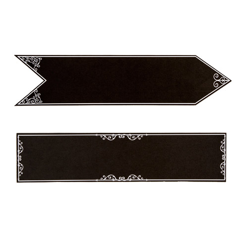 David Tutera Casual Elegance Chalkboard Signs 17 x 4 inches