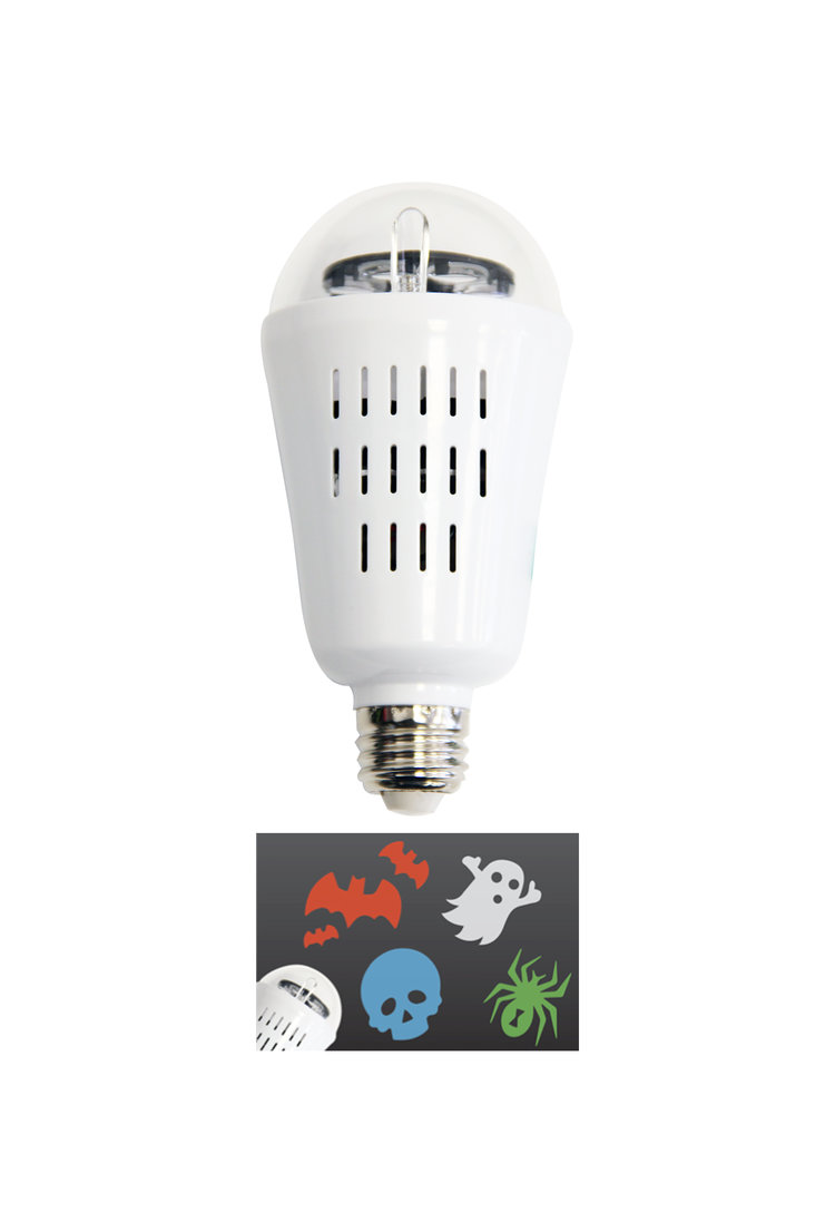 Visual Effects Halloween Party Projection Bulb