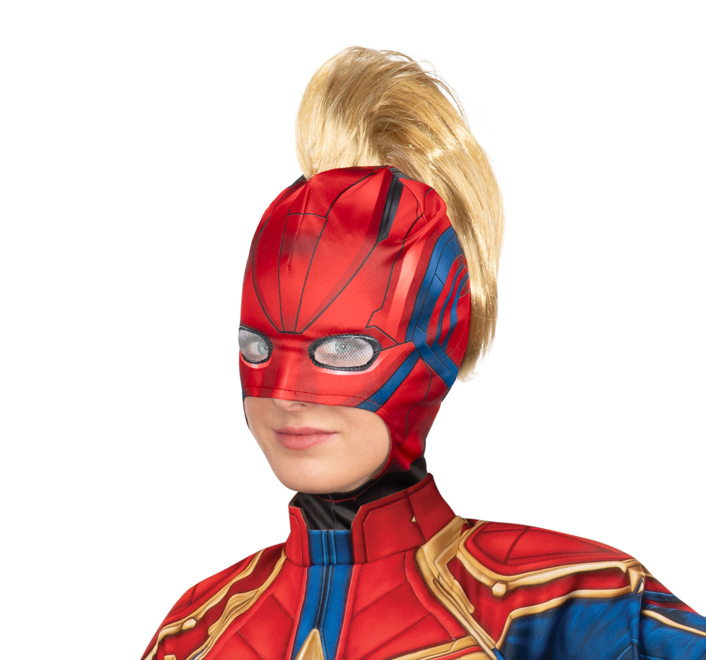Rubie's Captain Marvel Adult Hero Look Headpiece with Mohawk