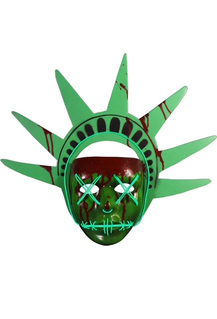 Trick Or Treat Studios The Purge Election Year Lady Liberty Light Up Mask
