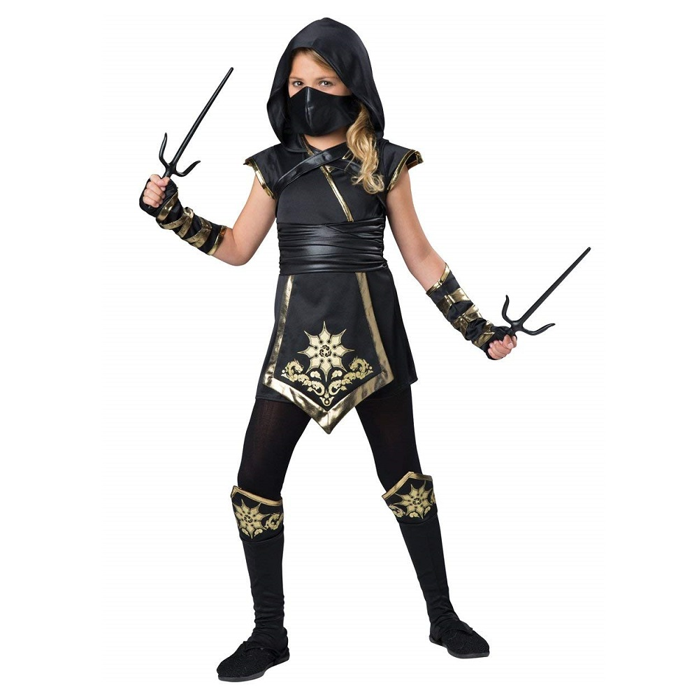 In Character Costumes Ninja's Mystique Costume, One Color, Size 12