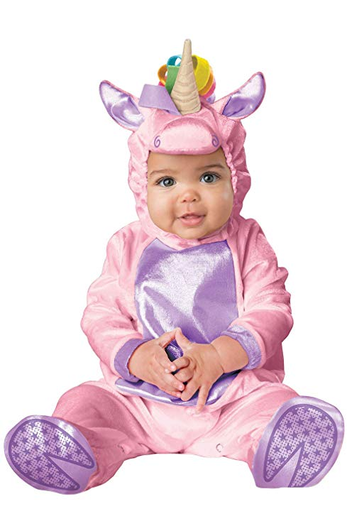 InCharacter Infant Pink Unicorn Costume, Pink, Small(6-12 Months)