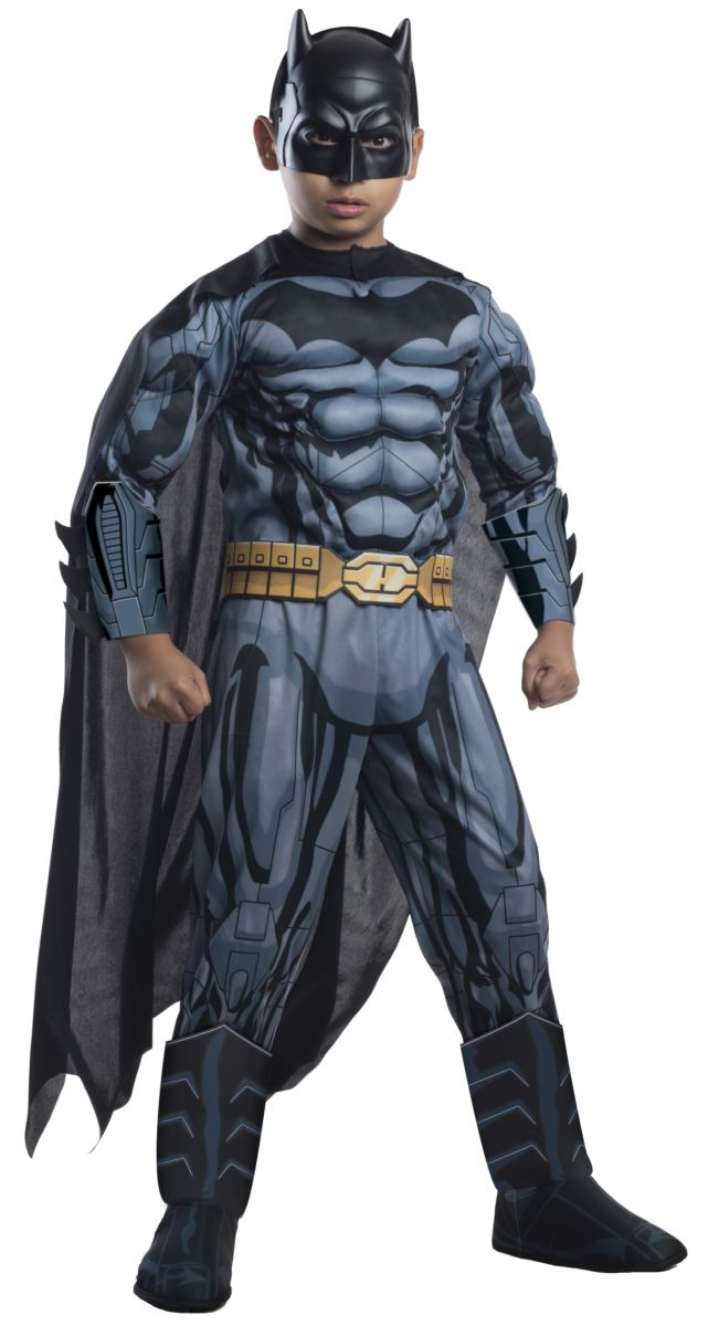 Rubie's Photo Real Deluxe Muscle Chest Kids Batman Costume Male Large