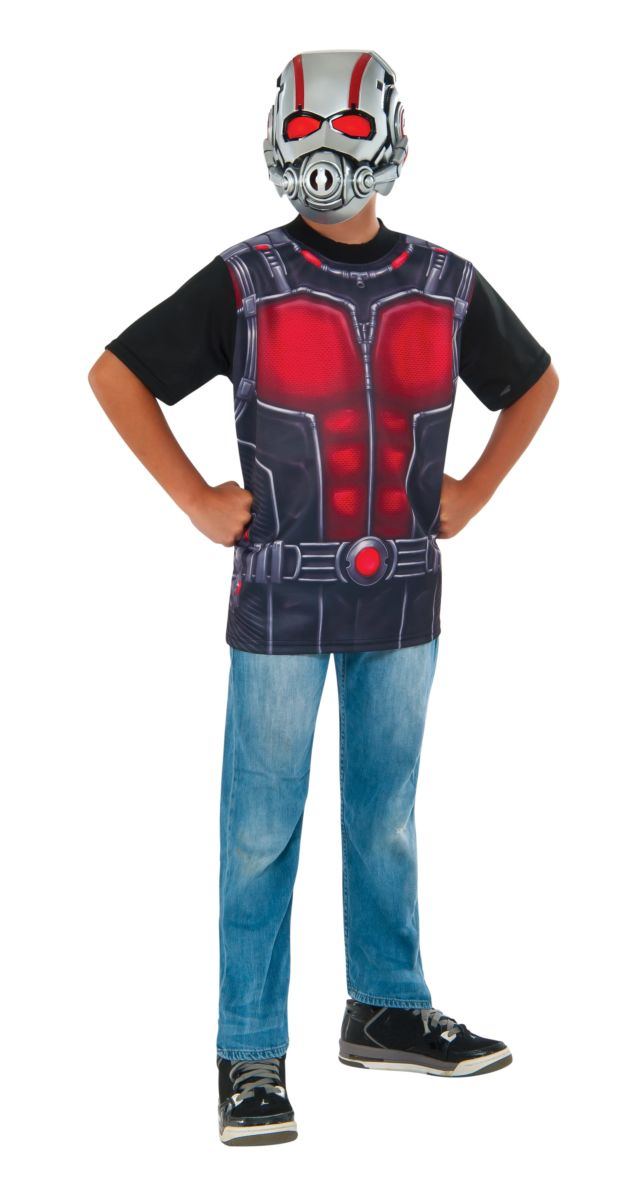 Rubies Kids Ant-Man Costume Top Male Small