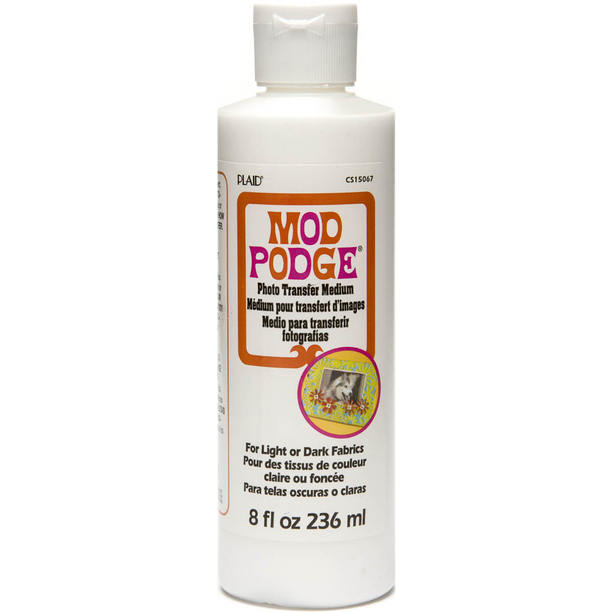 Plaid Mod Podge Photo Transfer Medium-8Oz