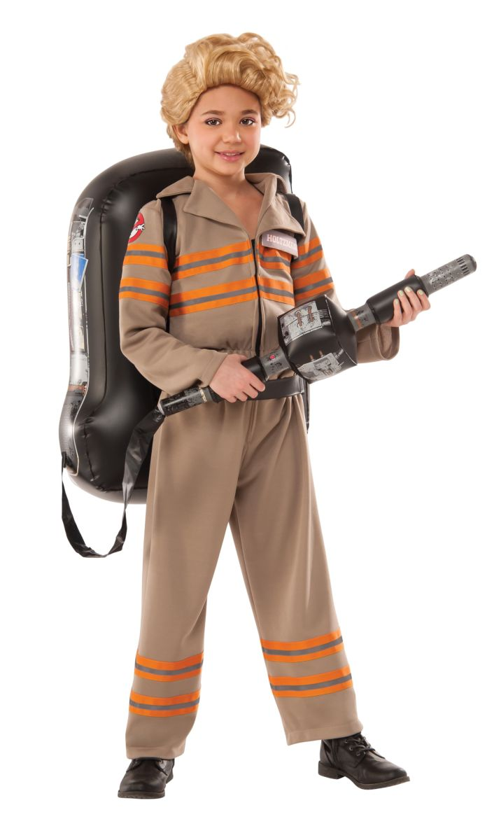 Rubie's Girl's Ghostbusters Movie Deluxe Child Costume, Small