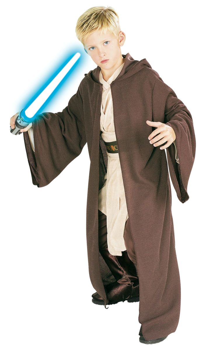 Rubie's Star War Classic Deluxe Kids Jedi Knight Robe Male Small