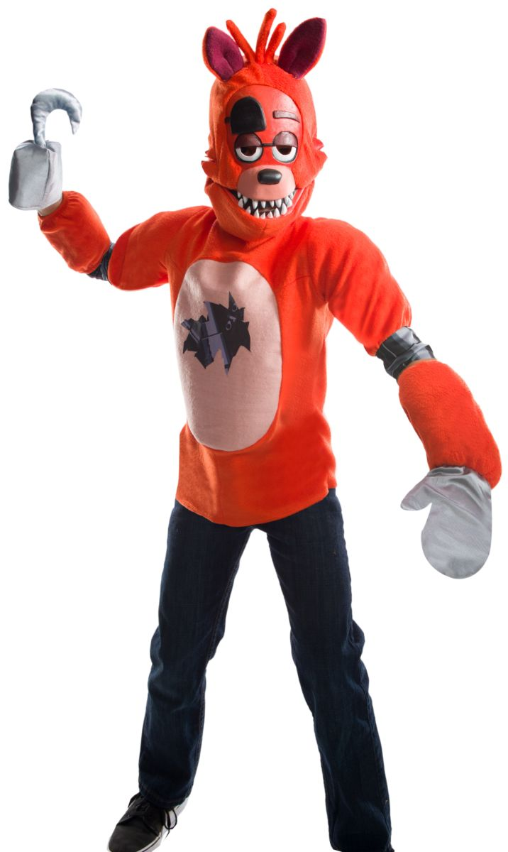 Rubies Kid's Five Nights At Freddy's Deluxe Foxy Costume Male Meduim