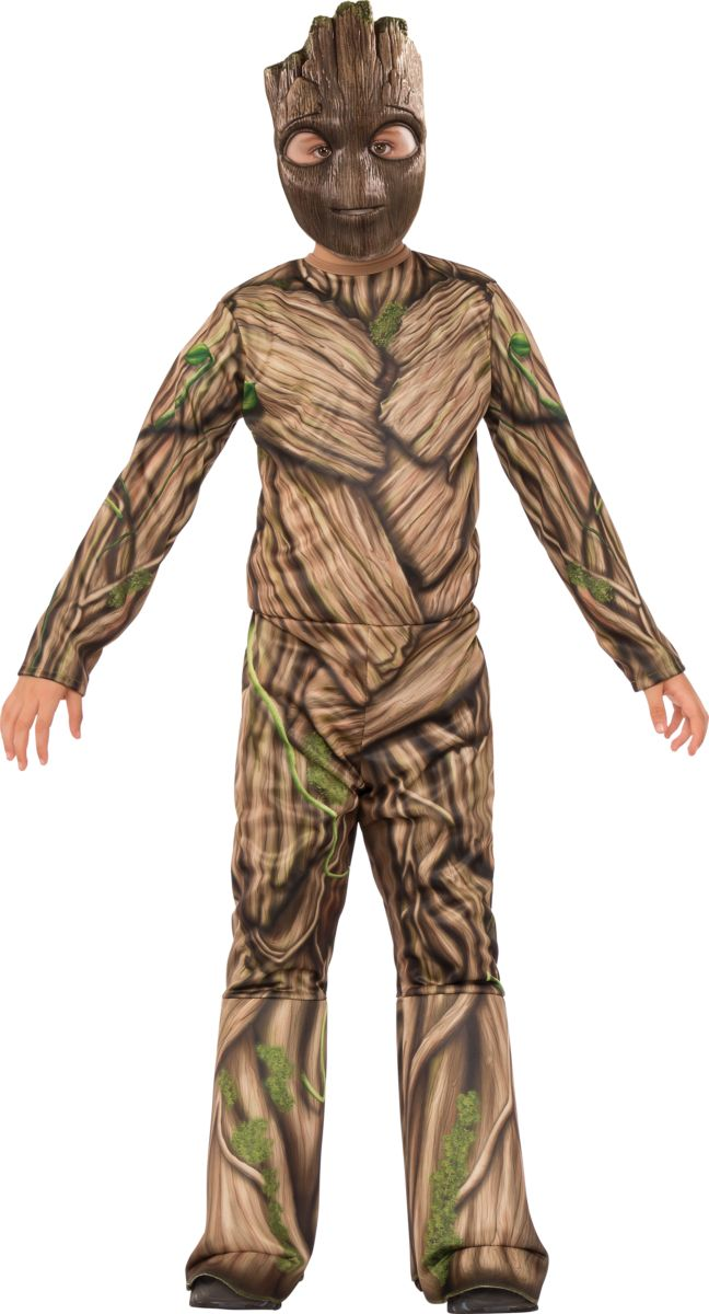 Rubies Kid's Guardians of the Galaxy Vol. 2 Groot Costume Male Large