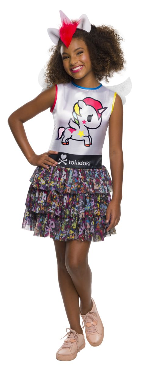 Rubie's Girl's Child's Tokidoki Costume, Stellina Unicorno, Large