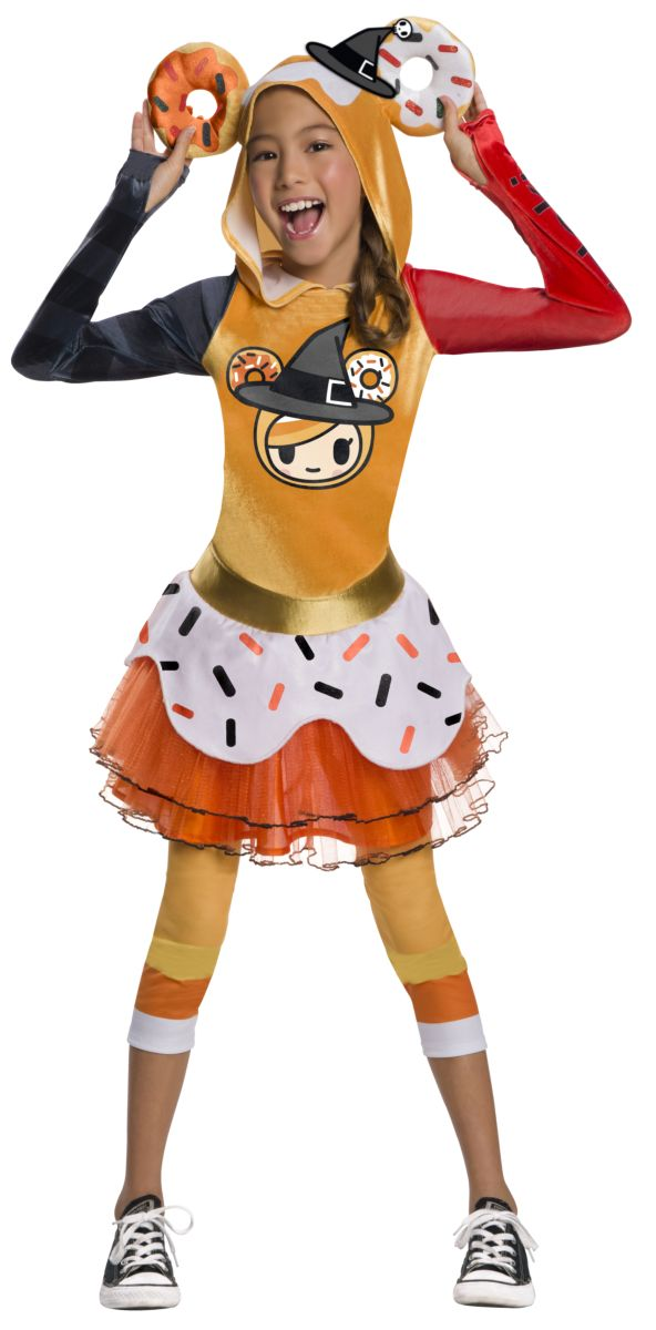 Rubie's Girl's Child's Tokidoki Costume, Halloween Donutella, Large