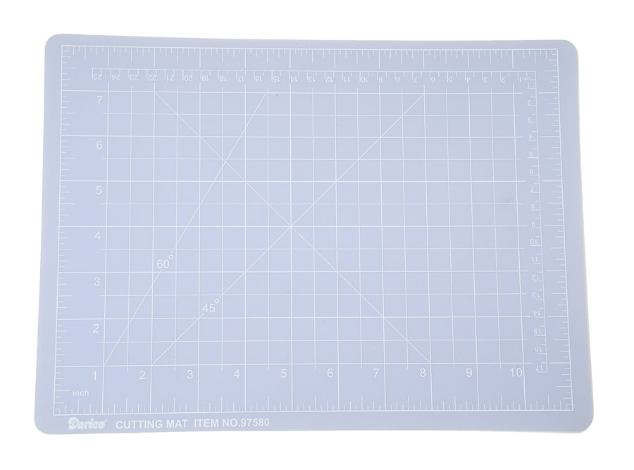 Darice Small Self Healing Cutting Mat Clear 9 x 12 inches