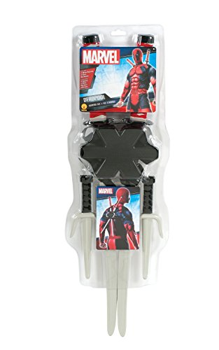 Rubie's Costume Co Men's Marvel Classic Deadpool Weapon Costume Accessory Kit