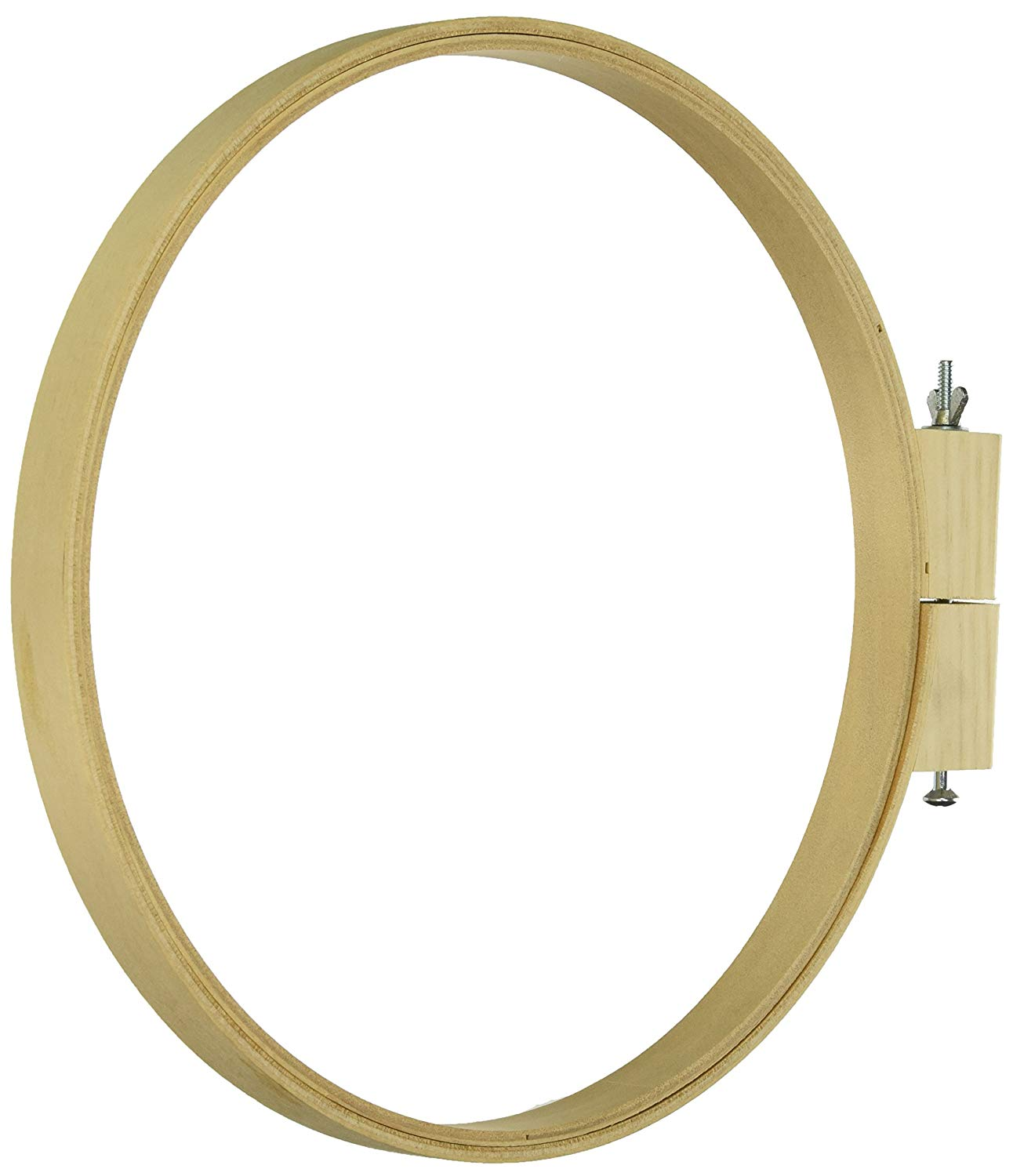 Darice Wood Quilting Hoops - Round - 10 Inches